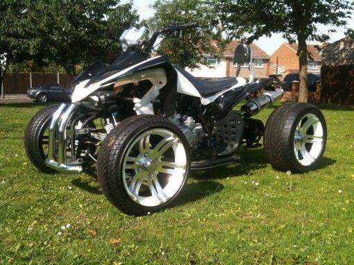 Viper Luxury Quad Bike 250 Ultimate In Road Legal Quad Bike