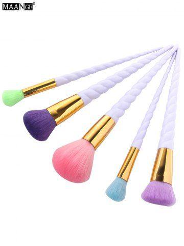 maange 5 pcs unicorn makeup brushes set with images