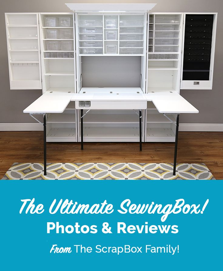 Customer Photos And Reviews Of The Ultimate Sewingbox