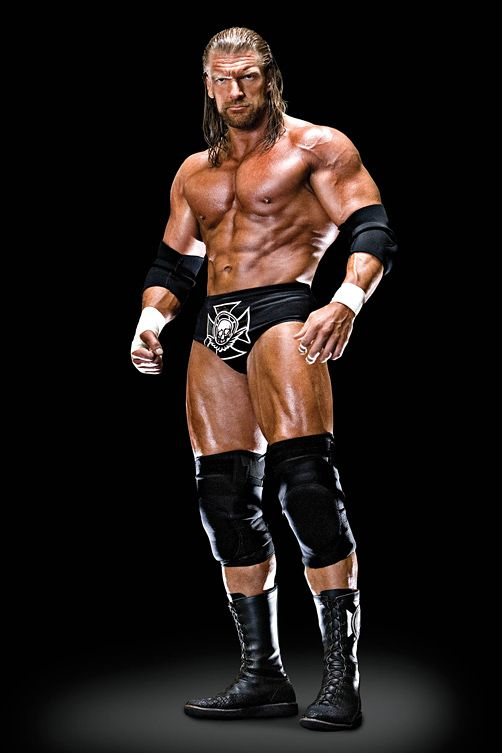 Triple H He Looks Far Sexier With Long Hair Pro Wrestling Wwe Champions Wwe Legends