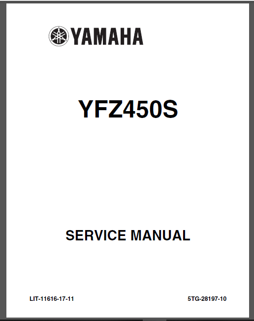 2004 2013 Yamaha Yfz 450 Atv Service Repair Manual Yfz450 Highly Detailed Fsm In 2020 Repair Manuals Manual Repair