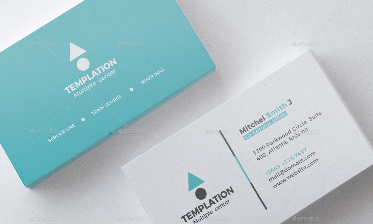A Clean Business Card Template By Abirhasan 5 Business Card Design Business Cards Innovative Business Cards