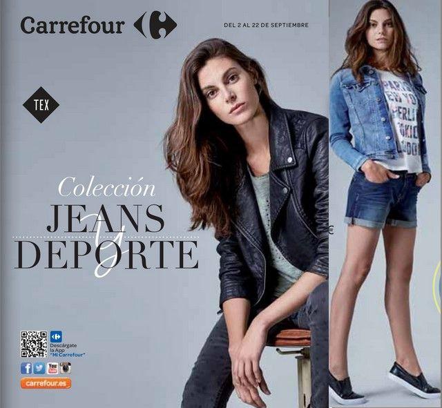 Carrefour Tex, Coleccion Jeas Y Deporte 2015