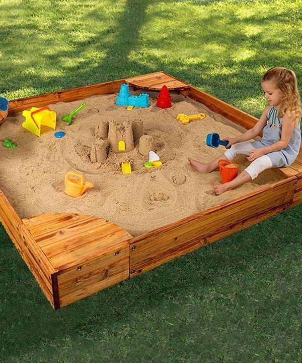 Look at this #zulilyfind! Backyard Sandbox by KidKraft # ...