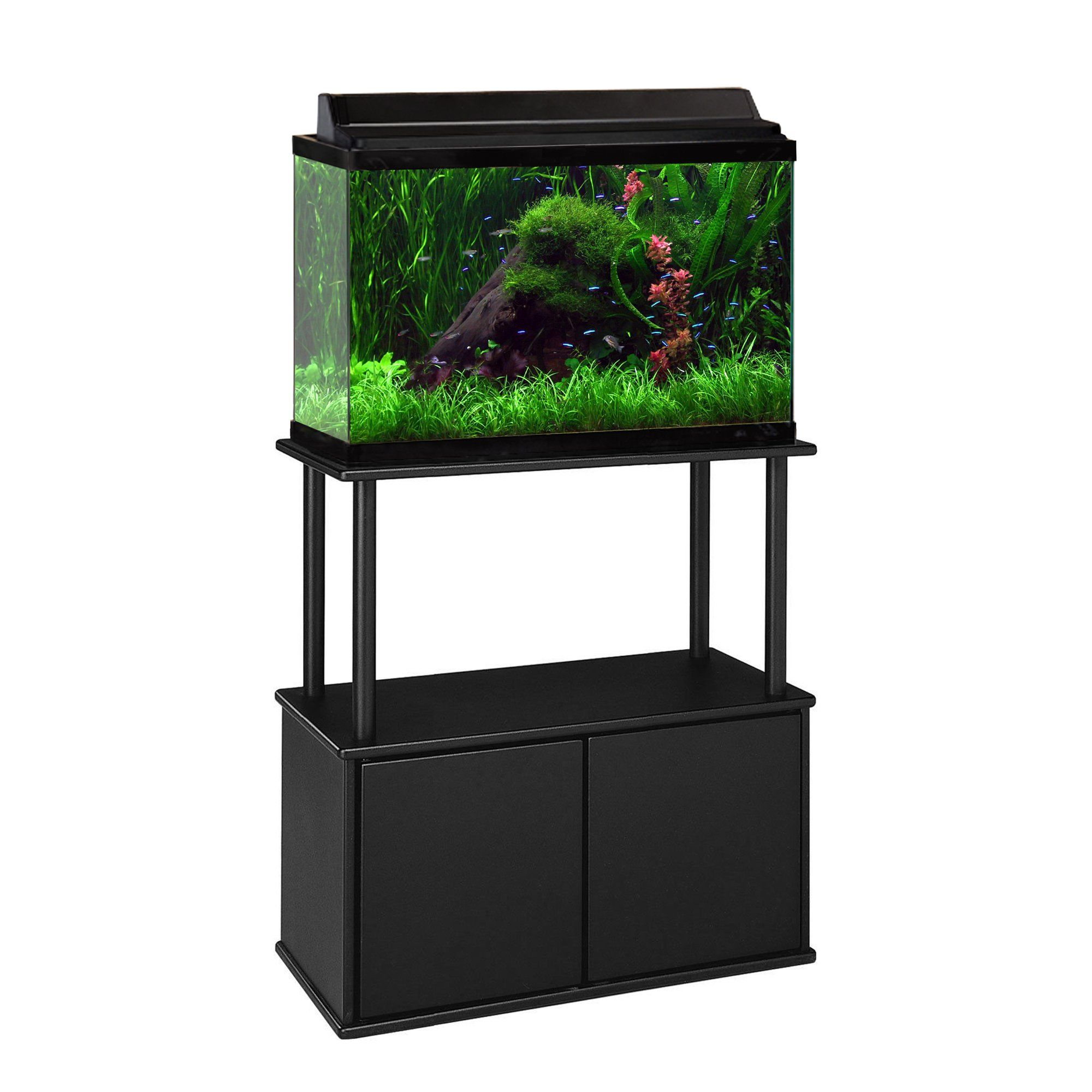 Seaclear 29 Gallon Rectangular Aquarium Combo Clear 30 Gallon Fish Tank Acrylic Aquarium Aquarium