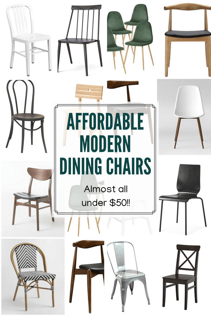 Contemporary Dining Chairs For Sale