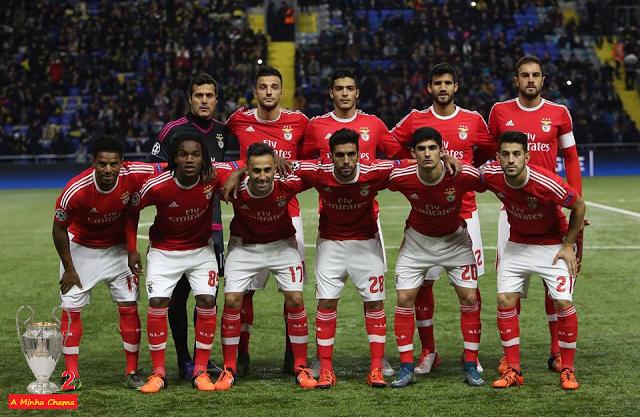 A Minha Chama: CL 15/16 - 5ªJ: Astana 2 SL Benfica 2