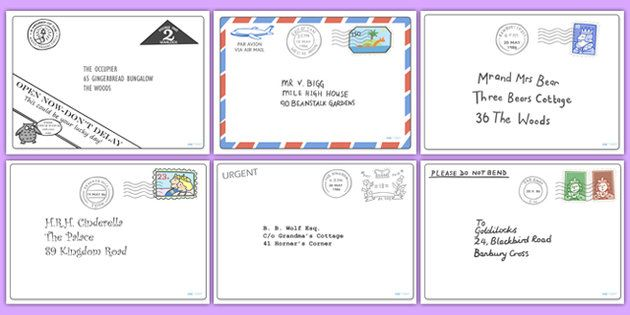 The Jolly Postman Letter Pack  Language Arts  Jolly Postman