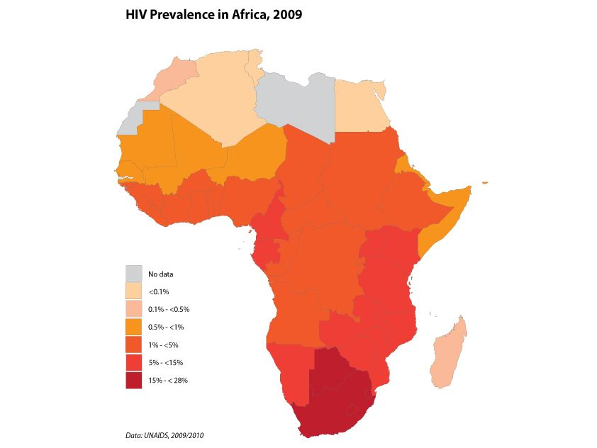 the shocking statistics of aids in africa Assessing the prevalence of hiv in africa in light of rele- vant demographic,  political  face of these changes, it would be surprising not to find an increasing .