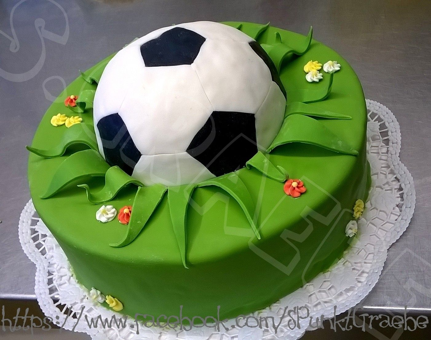Fussball Torte Torten In 2019 Cake Football Und 30th