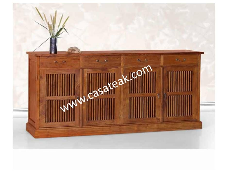 Rustic JJ Sideboard SB 15-02 | Teak Display cabinets by Casateak