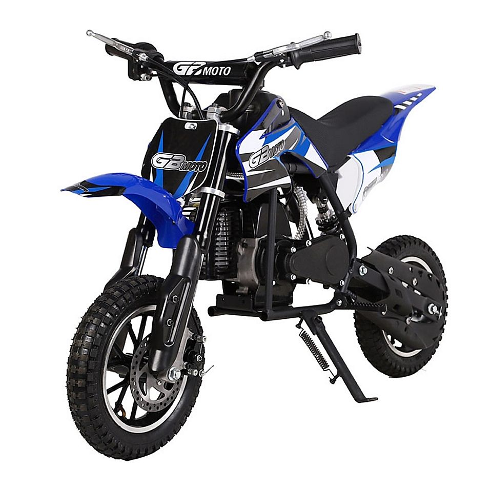 Mototec 49Cc Gb Gas-Powered Dirt Bike In Blue