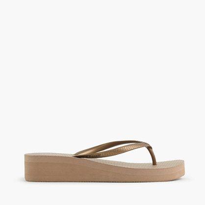 12d587c4074 Skinny wedge flip-flops