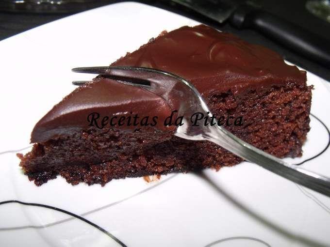 A Melhor Receita De Bolo De Chocolate Humido Receita Com