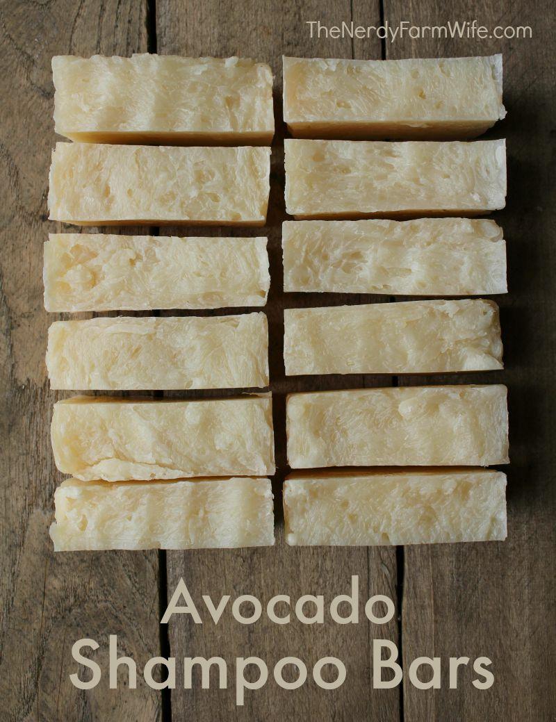 Avocado Shampoo Bar Seife Selber Machen Seifen Und Kosmetik