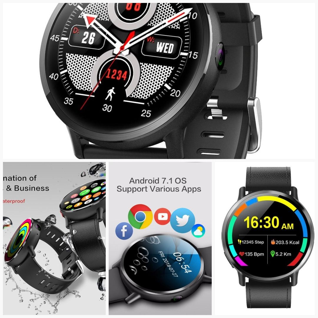 Professional LEMFO Android Smartwatch Smart watch, Push