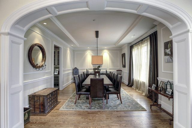 archway trim ideas | Dining room archway with trim-arch way ideass ...