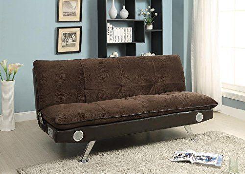 Nuvia Futon Sofa With Bluetooth Speaker