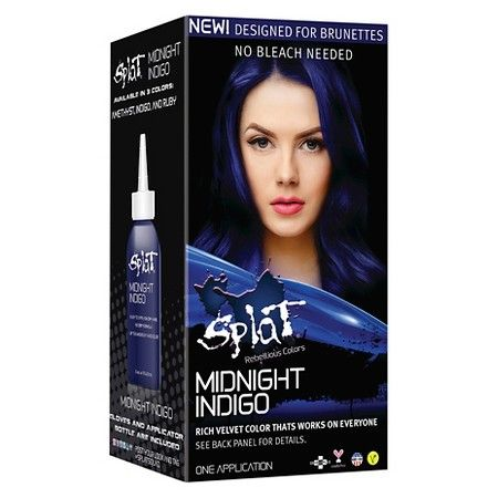 Splat Midnight Hair Color Indigo 6 0oz Midnight Hair Splat