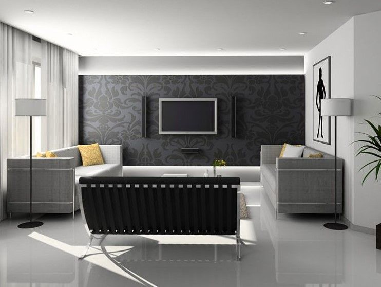 37+ Wall Mounted TV Ideas Interior and Decor for Your Inspirations - tv für badezimmer