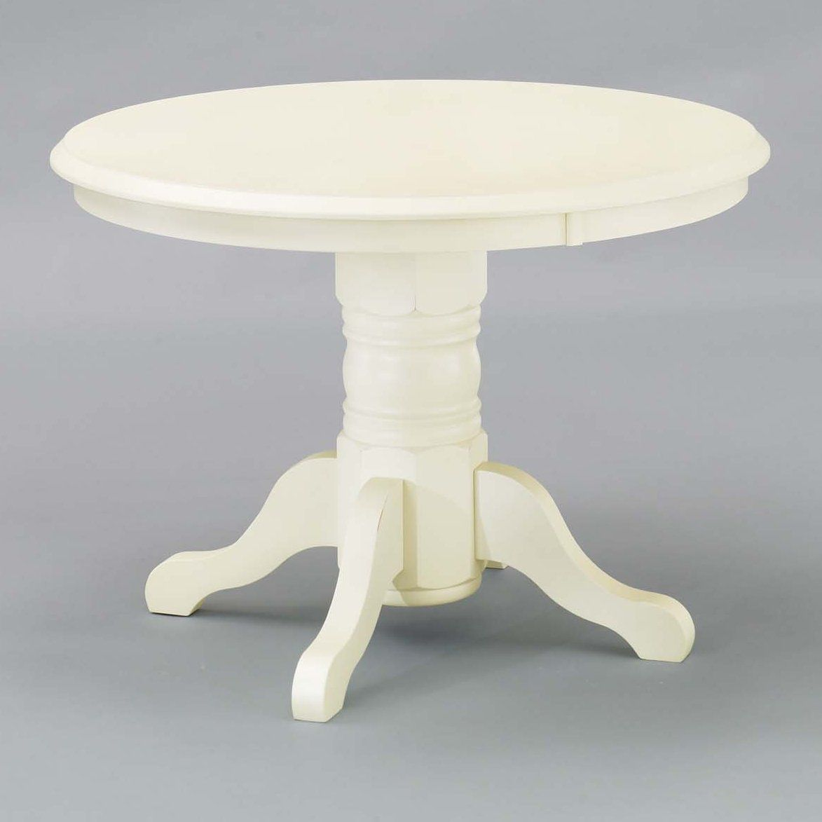 Home Styles 5177 30 Round Pedestal Dining Table Antique White