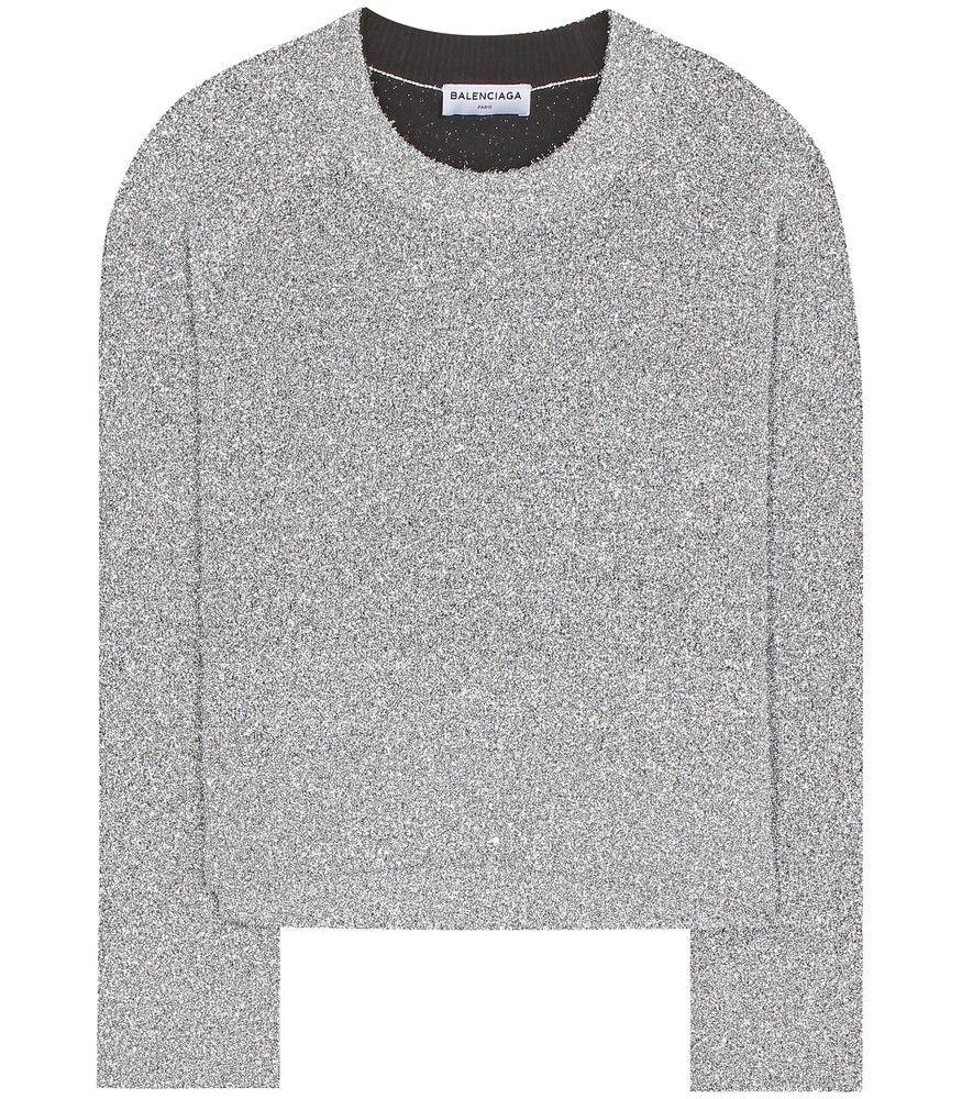 balenciaga t shirt silver