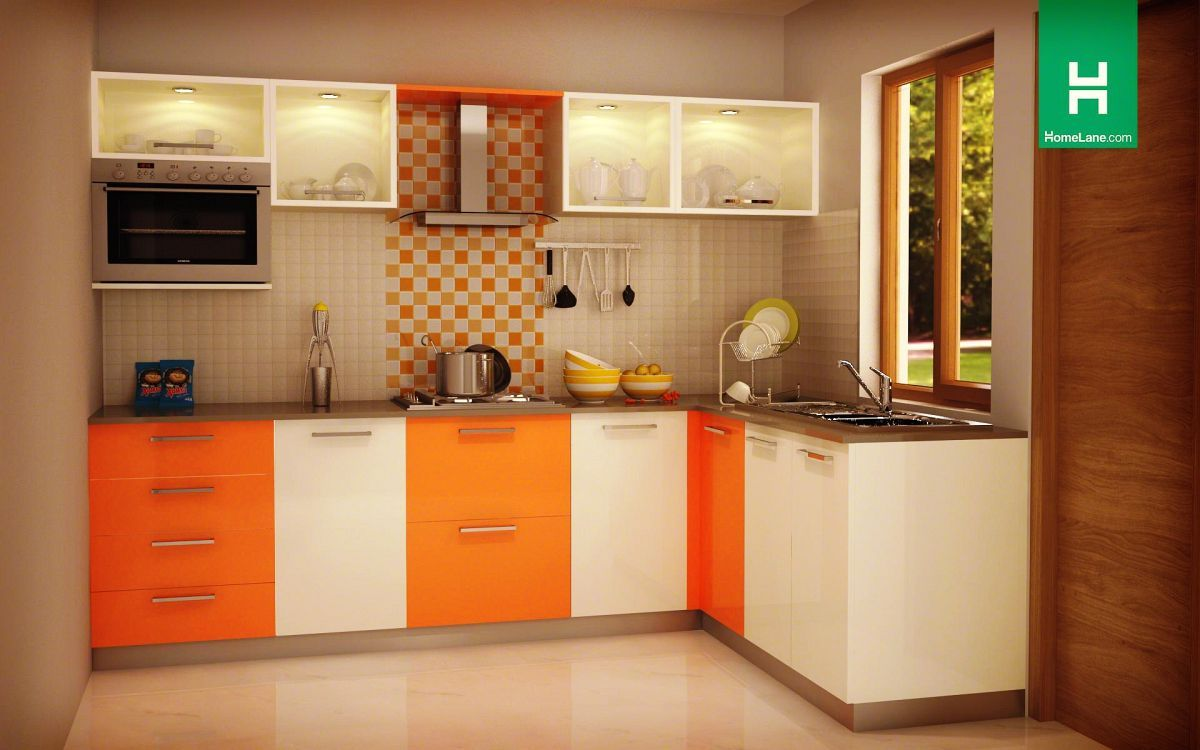U Shaped Small Space Modular Kitchen Designs With How Much Is A Kitchen Island With Kitchen Cabine Kitchen Room Design Kitchen Furniture Design Kitchen Modular