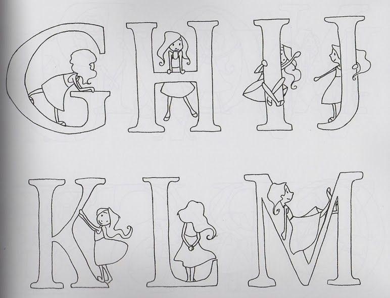7 des Arts: Alphabets