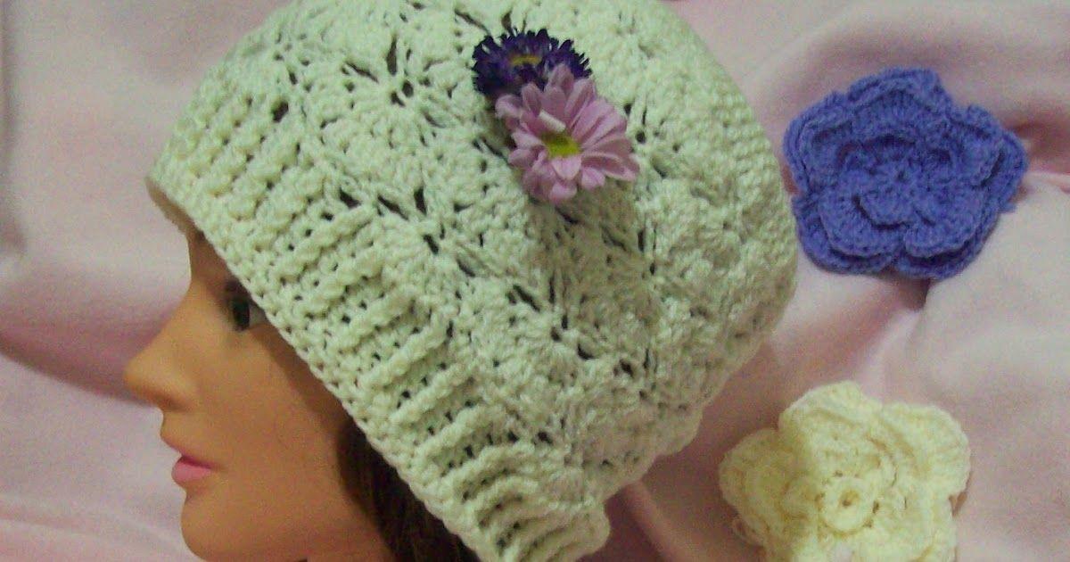 The Shy Butterfly Adult Size Free Crochet Pattern Free Crochet Hat