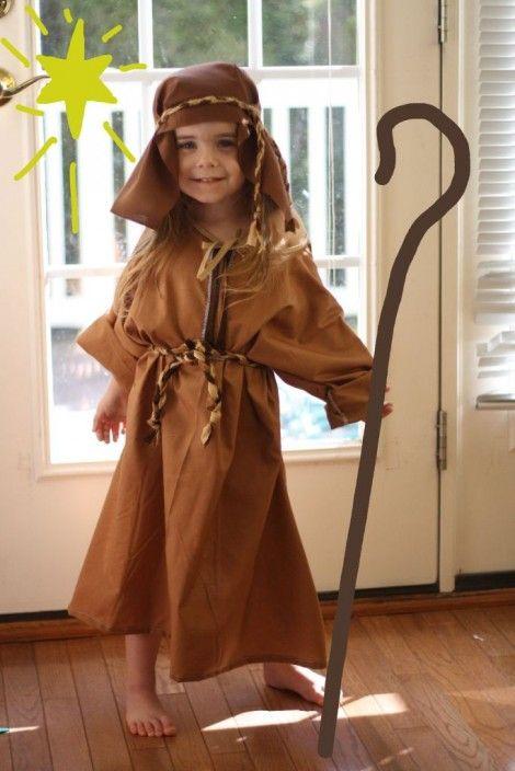 Shepherd Costume Diy Costumes Kids