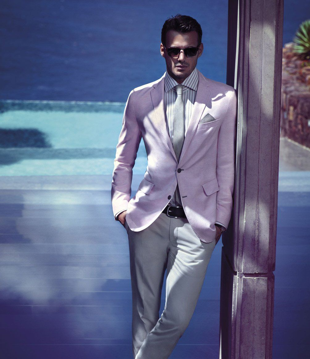 Great color in this suit, good fit | Ideas | Pinterest