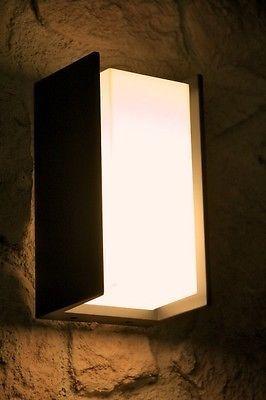 philips design lampe wandleuchte au enlampe au enleuchte wandlampe gartenleuchte fassade. Black Bedroom Furniture Sets. Home Design Ideas