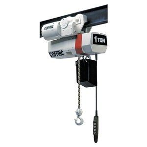 Elec Chain Hoist 1 2t 32fpm 460v By Coffing 4739 38 Electric Chain Hoist Variable Frequency Drive Capacity 1 2 Ton Electric Winch Bath Oils Pushbutton