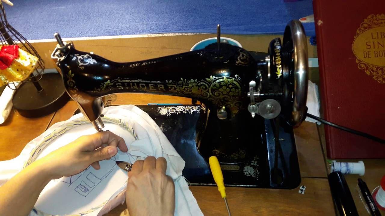 Curso de Bordado a máquina vintage Cap. 3   Costura, Lazos y Cintas ...