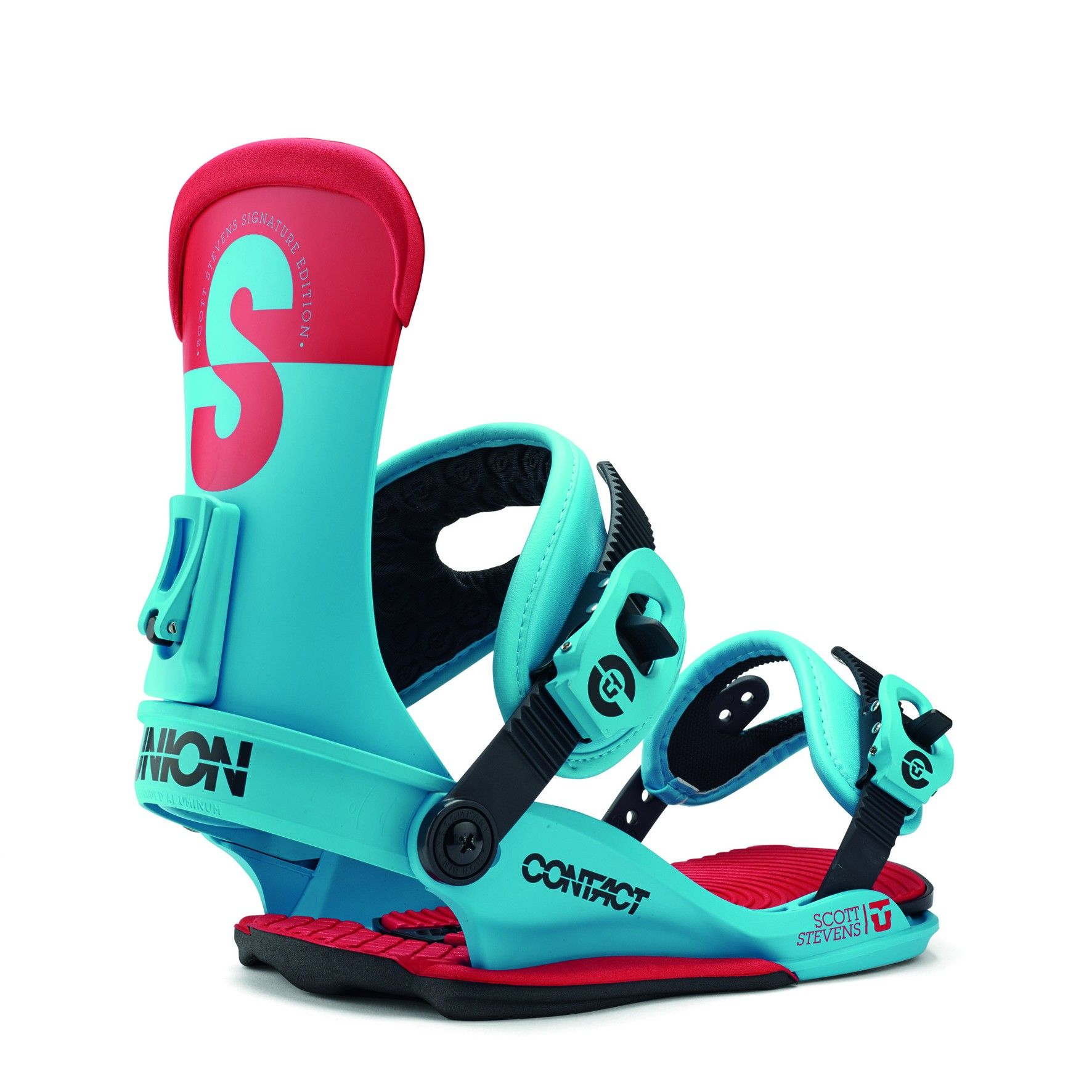 UNION CONTACT SCOTT STEVENS SNOWBOARD BINDINGS 2015 (With