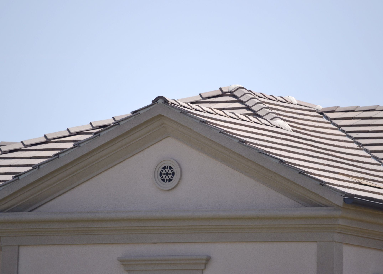 Flat Concrete Tile Roof Google Search In 2020 Architecture House Concrete Tiles Outdoor Decor