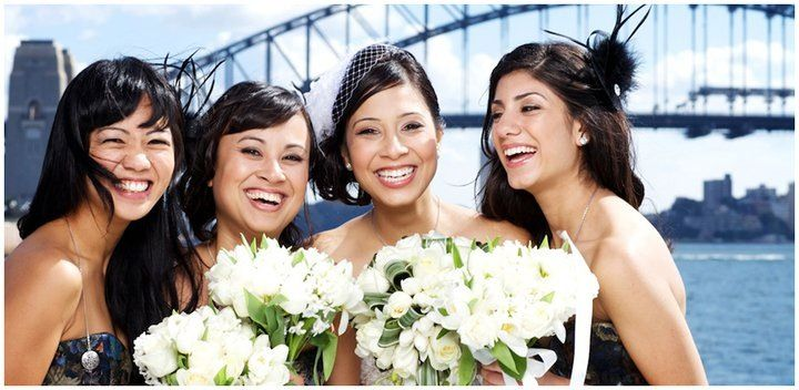 Bridal makeup.  Sydney harbour bridge.  www.sparrowmakeup.com.au