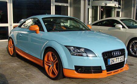 Audi TT In Gulf Oil Livery Even More Beautiful Sweet Cars Cars - Audi car jobs