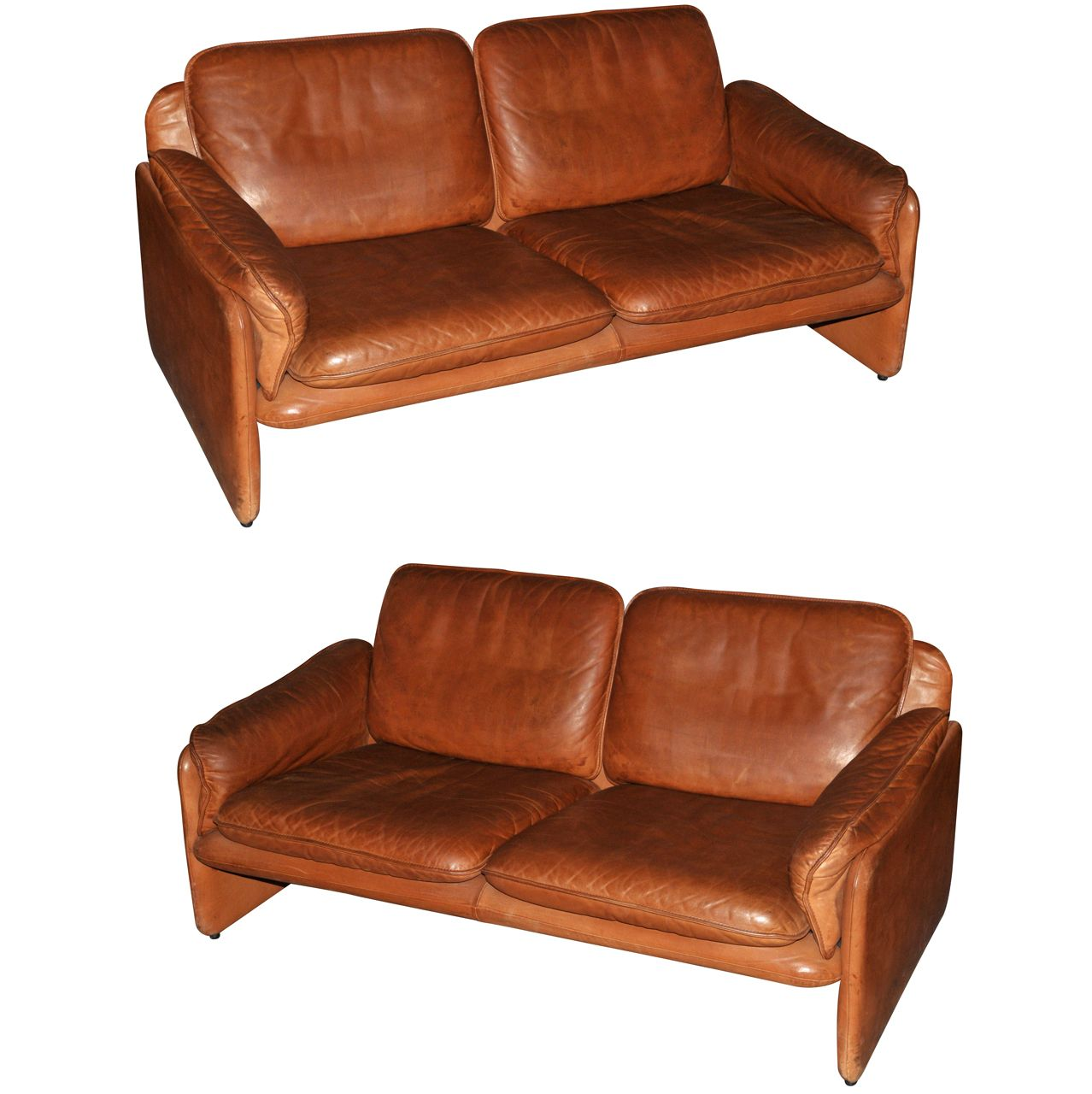 Two 1970s Sofas by De Sede