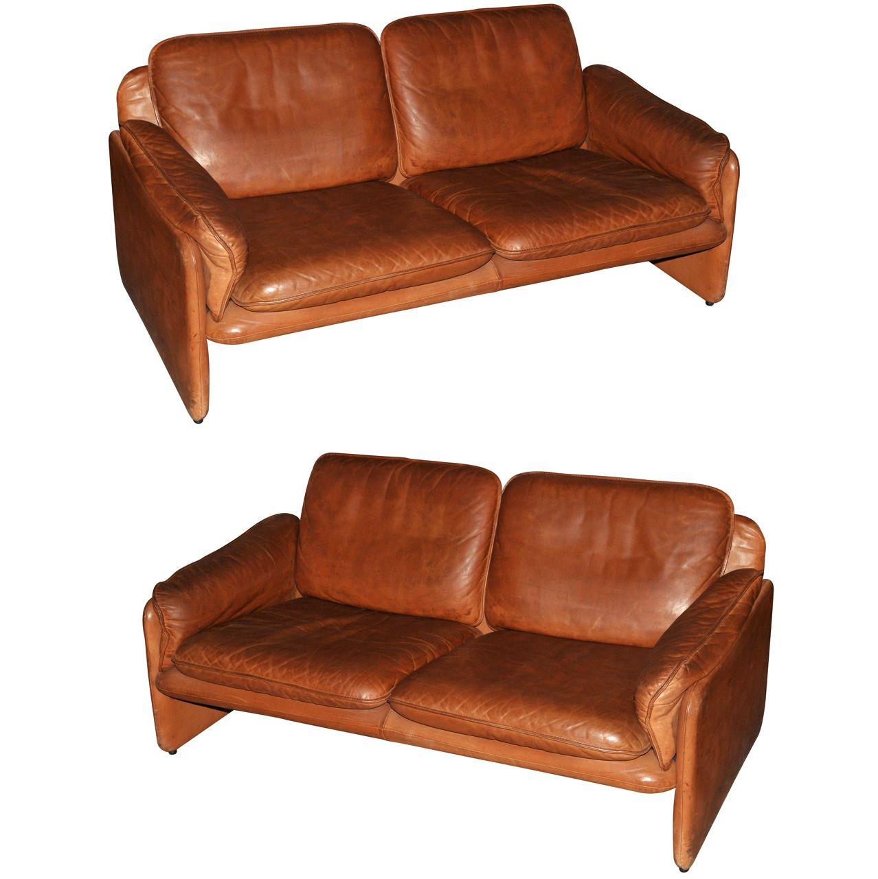 Two 1970s Sofas by De Sede