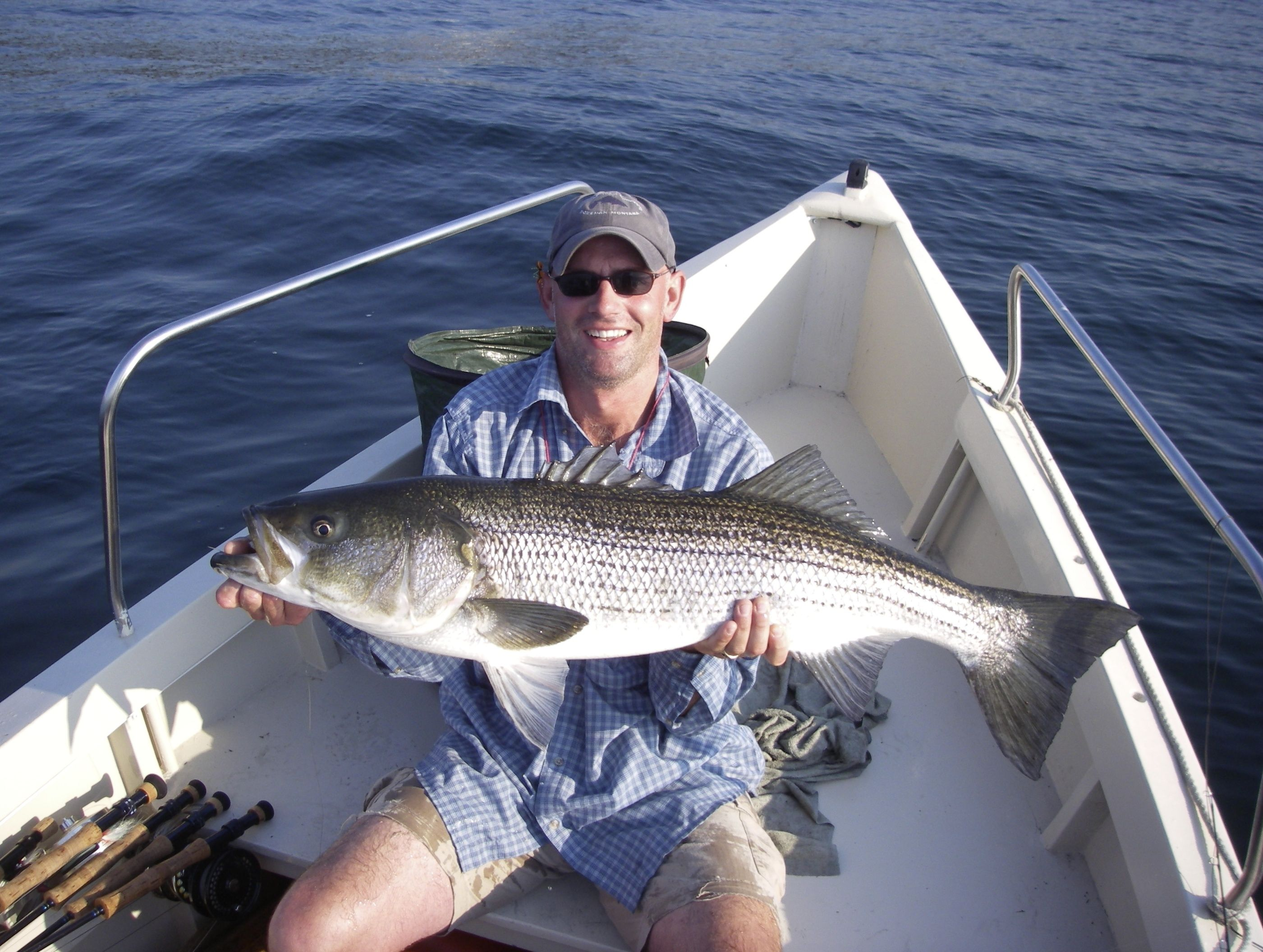 Maine stripper fishing