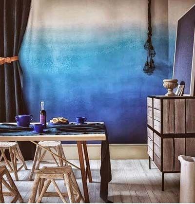 Como Pintar Y Decorar Las Paredes Con Efecto Degradado Wall - Pintar-y-decorar-paredes