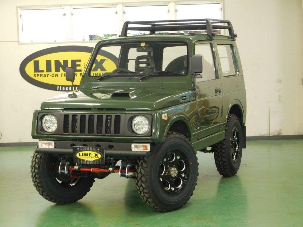 ジムニー Ja11 Line X カスタム塗装 Mobil