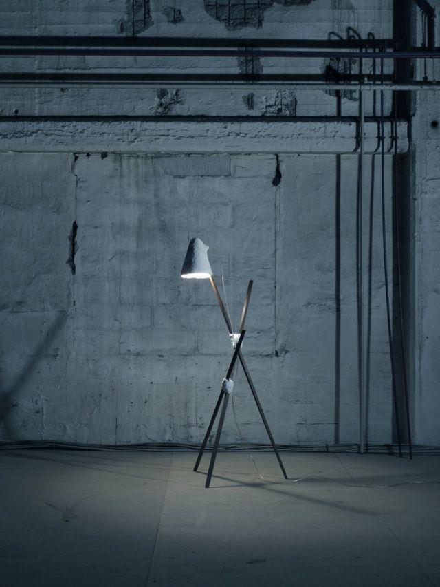 lamp _ concrete, by jonasedvard.dk