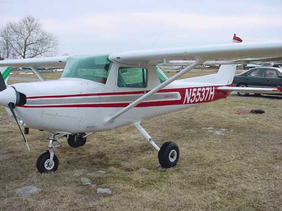 Cessna 150/152 My husband is a pilot, I have a model of this, can we