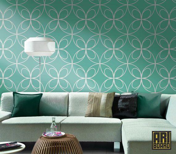 Butterfly self adhesive DIY wallpaper home decor por ArtBoardI