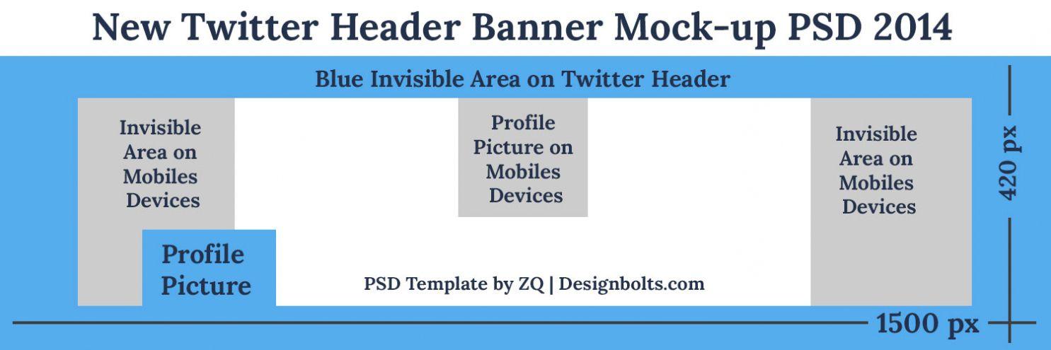 Twitter Banner Template Psd In 2021 Header Banner Banner Template Twitter Banner