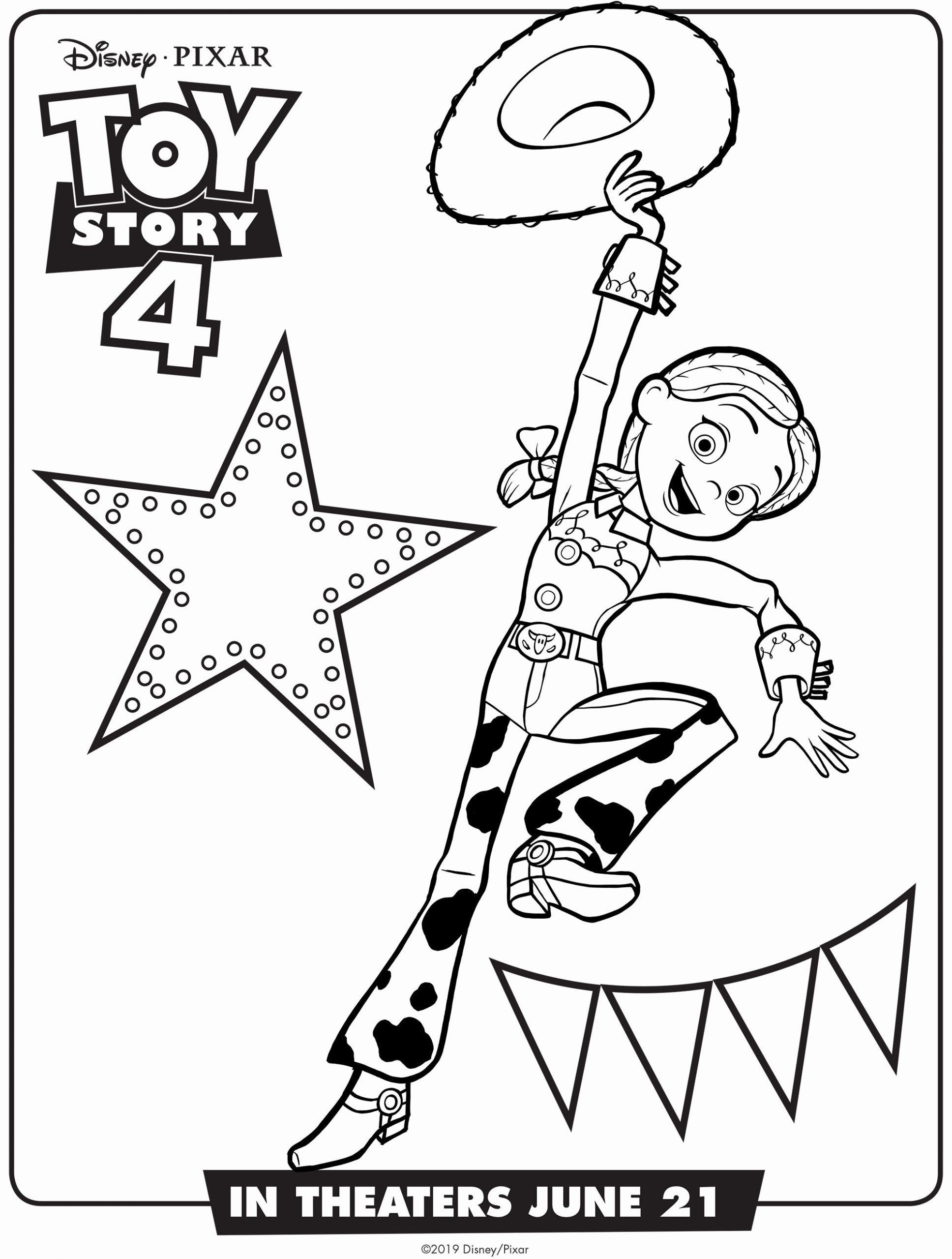Coloring Toy Story 4 En 2020 Paginas Para Colorear Disney Toy