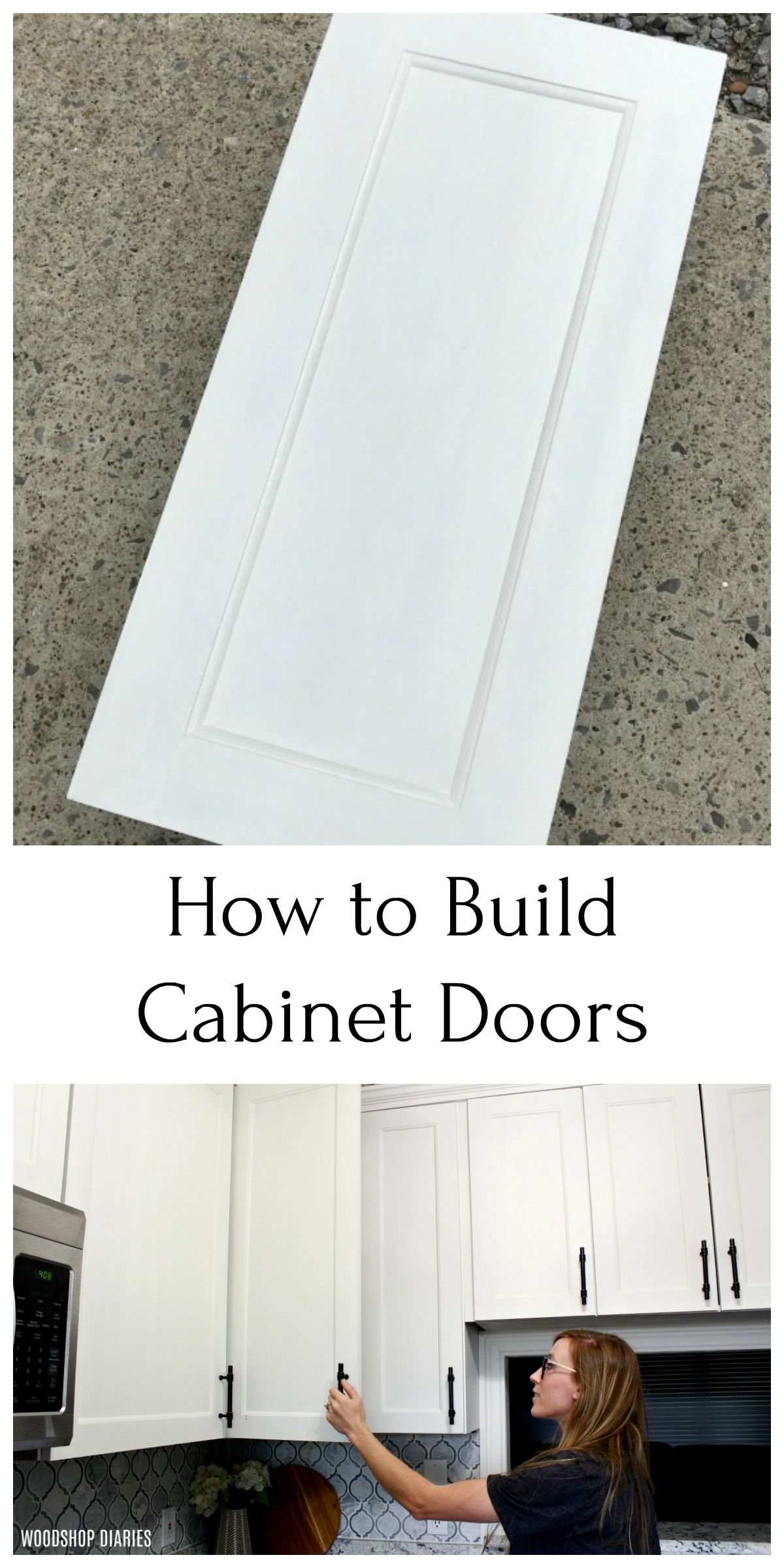 How To Build A Cabinet Door Decor And The Dog Diy Cabinet Doors Diy Door Diy Cabinets