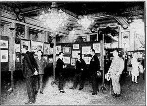 Aspecto da quarta exposição anual promovida pelo Photo Club Brasileiro – Revista da Semana de 1º de outubro de 1927